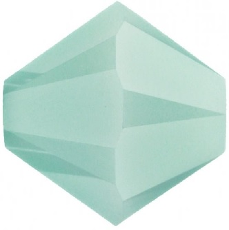 50 pack 4mm 5301 Swarovski Bicone Mint Alabaster