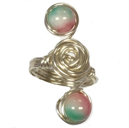 Friday, 15th February, 10 - 12.30 pm Wire Rose Rings